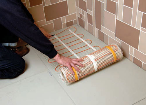 Flexel Electric Underfloor Heating Easy Installation Img02
