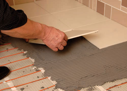Flexel Electric Underfloor Heating Easy Installation Img03