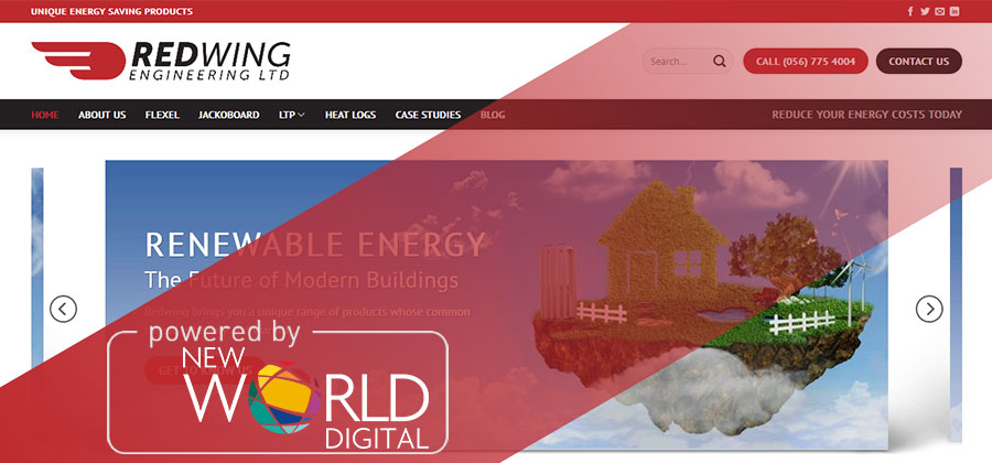 Redwing new website New World Digital